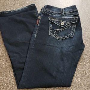 Silver Suki Surplus Jean's Size W32/L32